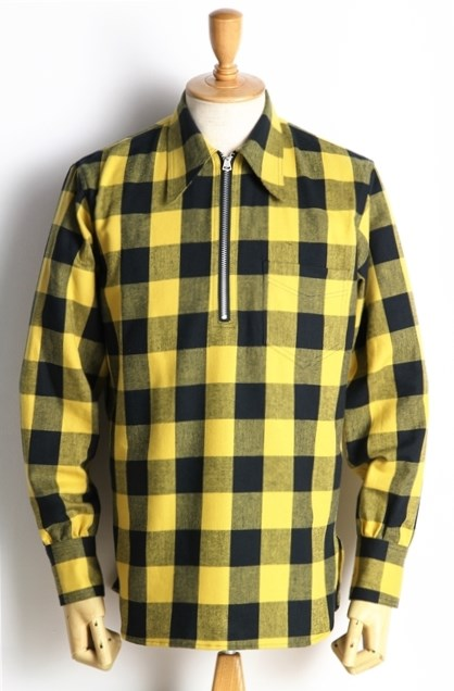 Lot239 BUFFALO CHECK PULLOVER YEL (3)