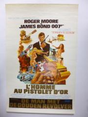 映画輸入版ポスター 仏語版?「007 黄金銃を持つ男」