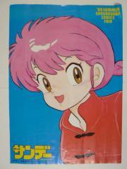 アニメポスター「週刊少年サンデー らんま1/2」