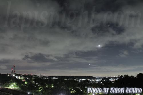 月と金木星 アルデバラン