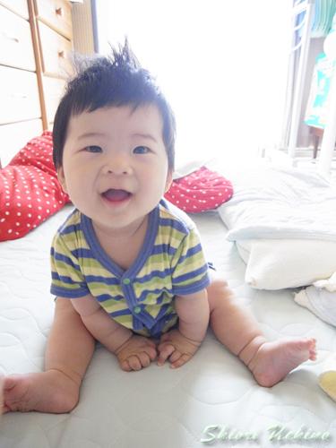 Baby Photo_初お座り