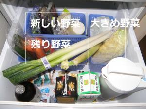 P6110331野菜室鮮度管理