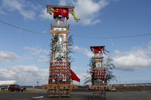 宝立七夕キリコ祭り1