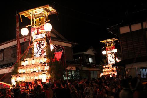 蛸島キリコ祭り5