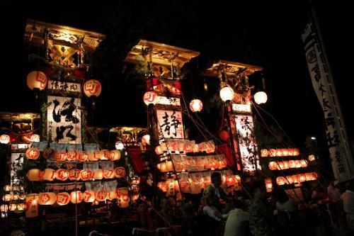蛸島キリコ祭り11