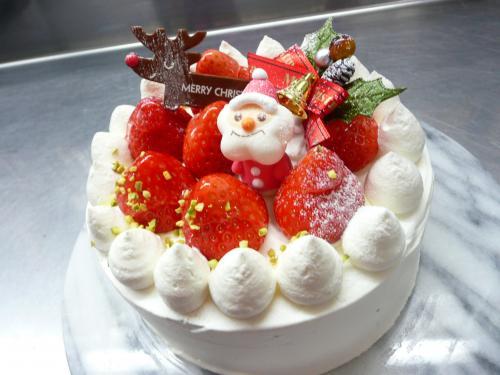 Uさん・クリスマスケーキ