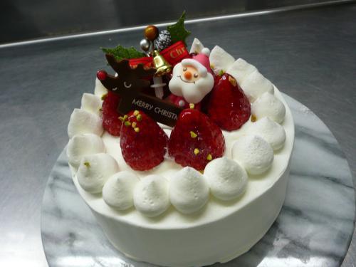 苺のクリスマスケーキ・15cm