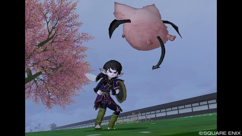 ピンクモーモン狩り