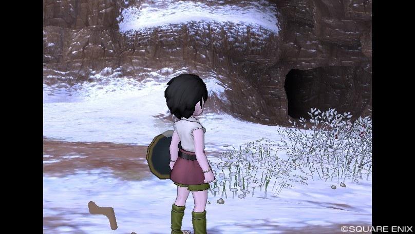ナグアの洞くつ前