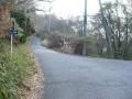 140104三国越林道を途中分岐で切山へ降りる