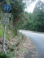 140104県道47号大柳生〜日笠へのアップダウン2