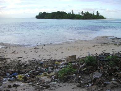 ゴミと無人島