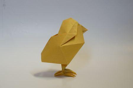 バッタの触角LIFE。 ひよこ : 折り紙 カレンダー : カレンダー