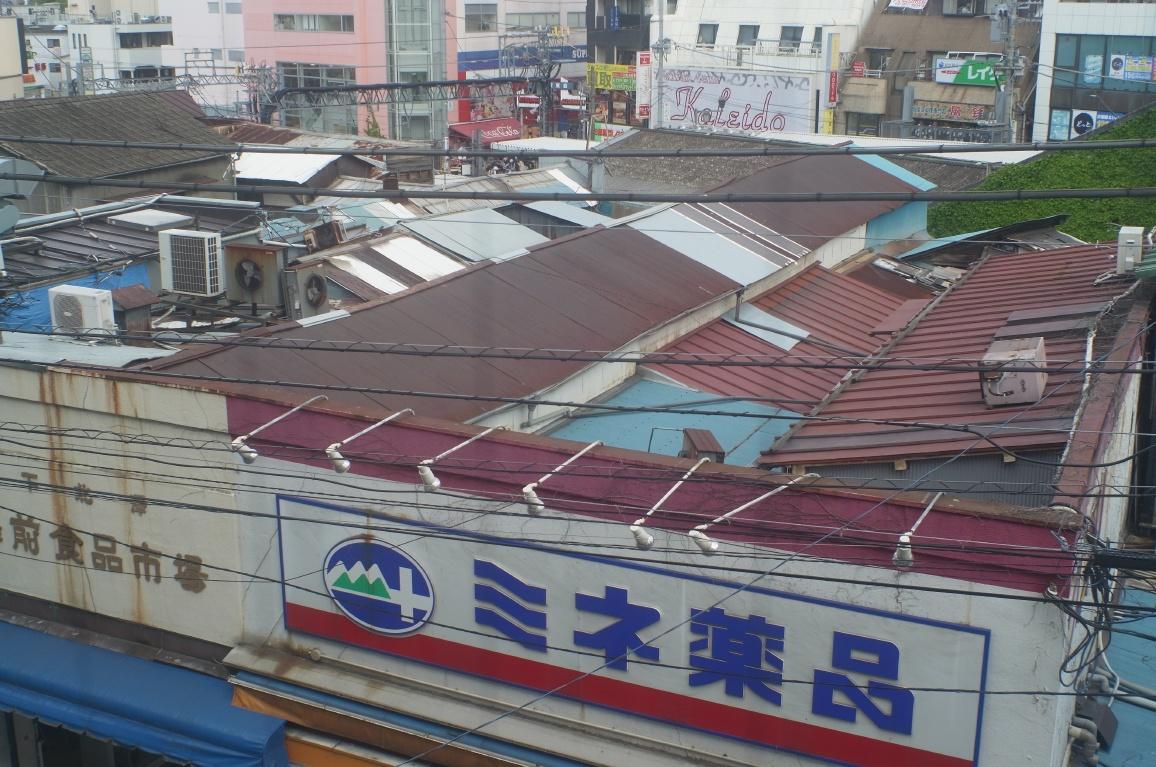 下北沢駅前食品市場001