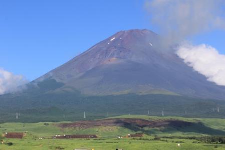 朝の富士山_800