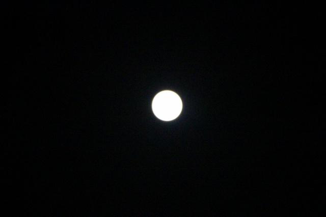 2013 中秋の名月 満月