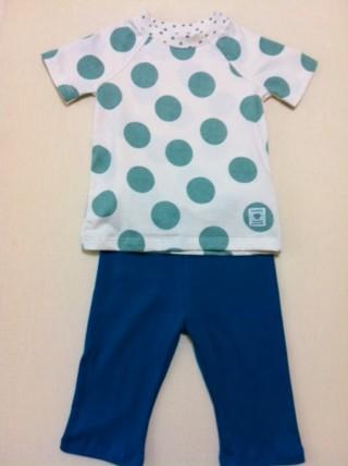 パジャマ水玉1