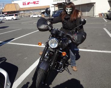 junさんバイク