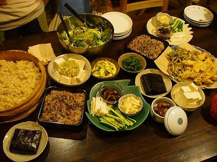 お祝い夕食1