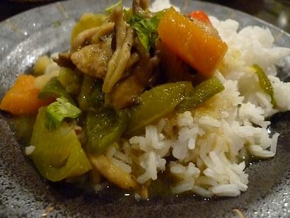 野菜のイエローカレー
