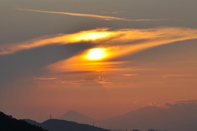 碧山巖の日の出(4)