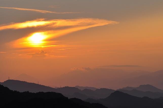 碧山巖の日の出(3)