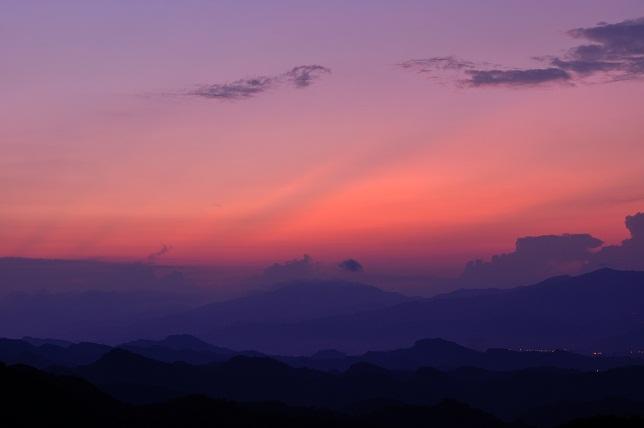 碧山巖の日の出(1)