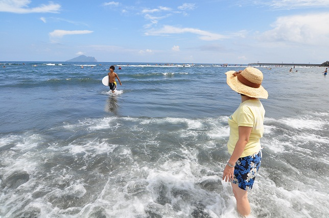 頭城の海辺(4)