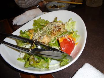 グリルチキンのフレンチサラダ