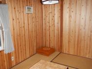 山荘の個室
