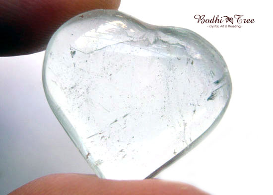 天然ブルートパーズ ハートシェイプ-b 天然石 パワーストーン 11月誕生石8