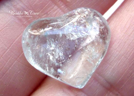天然ブルートパーズ ハートシェイプ-a 天然石 パワーストーン 11月誕生石3