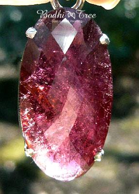 天然石ピンクトルマリンペンダントb120224221