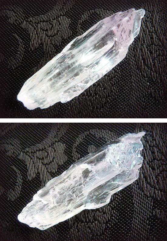 hクンツァイト原石