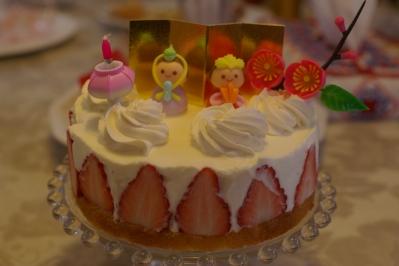 おひなさまケーキ初級