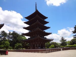 興福寺五重塔1 300