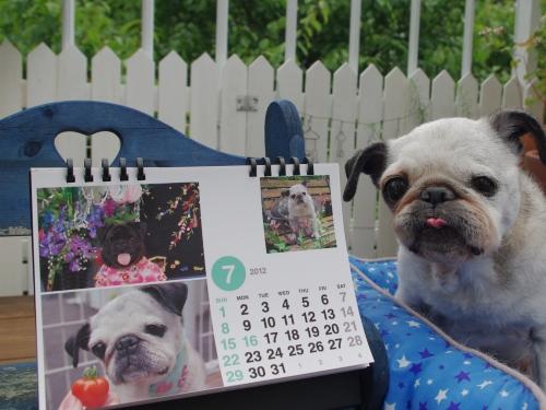 1207037月カレンダー
