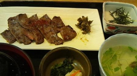 牛タン網焼き定食