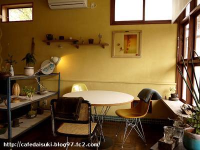 cafe Bazzar◇店内