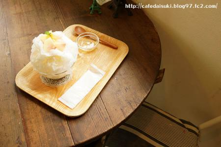 dough-doughnuts◇かき氷(生桃みるく)