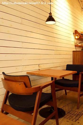 quatre cafe◇店内