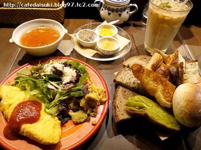 Ruheplatz Zopf◇ゆっくり朝食(きのこのオムレツ)