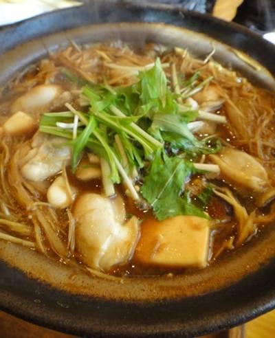 松月5 牡蠣鍋