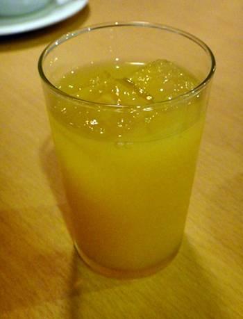 一陽 オレンジジュース