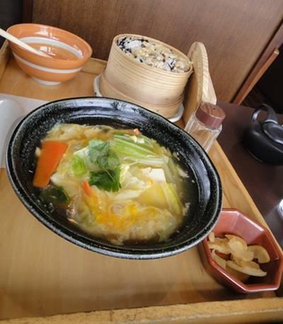 大戸屋 アサリ飯定食