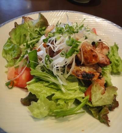 大戸屋 鶏サラダ