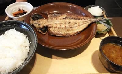 大戸屋 鯵定食