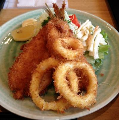 松月5 魚&イカフライ