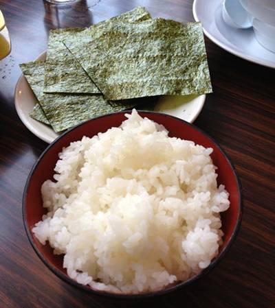 柳屋 ご飯&海苔