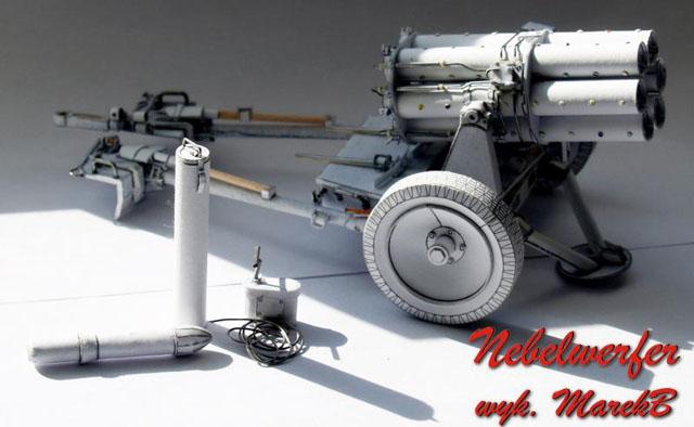 ... ドイツ軍ロケット砲 Nebelwerfer